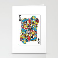 King Of Spades Stationery Cards