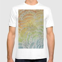 Drawing Meditation: Stencil 1 - Print 7 Mens Fitted Tee White SMALL