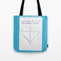 Love Equation Tote Bag