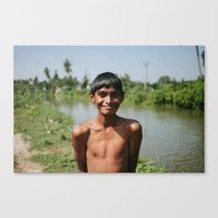 Out for a Swim Canvas Print