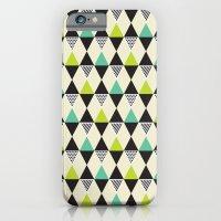 Mid-century pattern iPhone 6 Slim Case