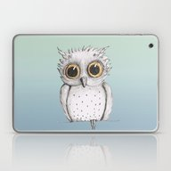 Cute Owl Laptop & iPad Skin