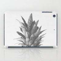Grey Pineapple Top iPad Case
