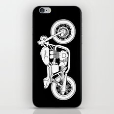 Triumph Bonneville - Cafe Racer series #3 iPhone & iPod Skin