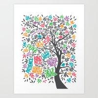 The Fruit Of The Spirit … Art Print
