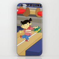 Non Olympic Sports: Bowl… iPhone & iPod Skin