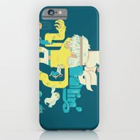 iPhone Cases featuring Big Ballin' by Emory Allen