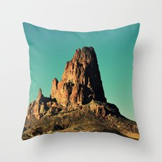 Desertic landscape 4 Throw Pillow