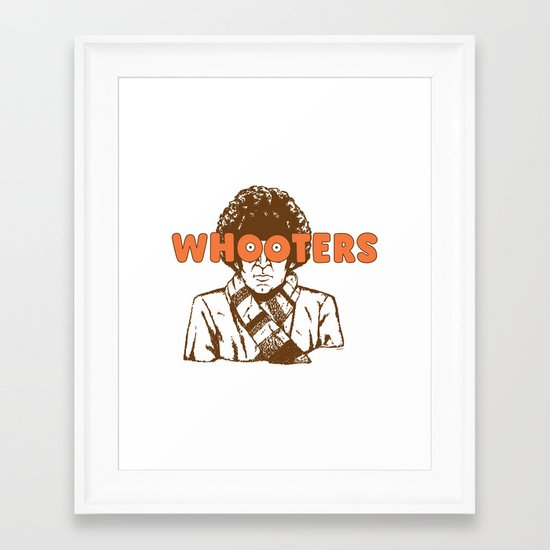 Whooters Framed Art Print