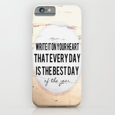 Write It On Your Heart  iPhone 6s Slim Case