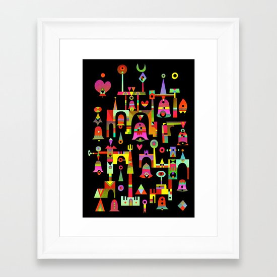 Harmony Chime Framed Art Print