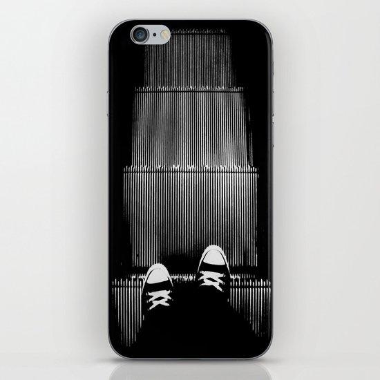 Up The Down Escalator iPhone & iPod Skin