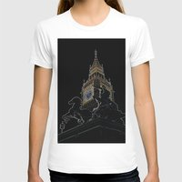 Big Ben And Boudica Womens Fitted Tee White SMALL