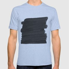 censor Mens Fitted Tee Athletic Blue SMALL