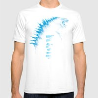 Radioactive Mens Fitted Tee White SMALL