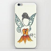 Iridessa Zen Tangle iPhone & iPod Skin