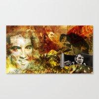 Elvis Presley - Vintage … Canvas Print