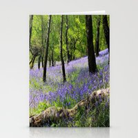 Bluebell Wood. Stationery Cards