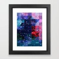 Errata & Entropia IV Framed Art Print