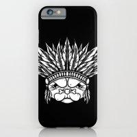 Tribal Pug iPhone 6 Slim Case