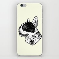 French Bulldog Tattooed Dog iPhone & iPod Skin