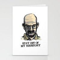 Mr. White Stationery Cards