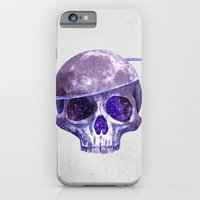 iPhone Cases featuring Cosmic Skull by Terry Fan