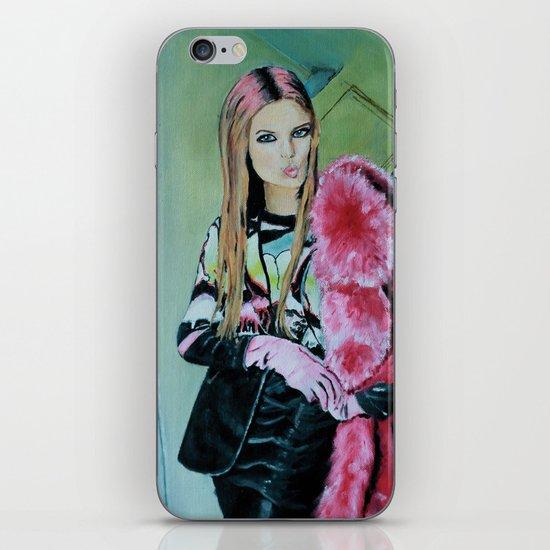 THE JPG GIRL iPhone & iPod Skin
