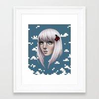 Bitty Framed Art Print