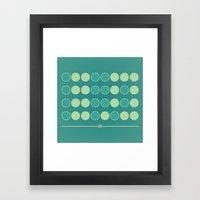 Geek in Binary Framed Art Print