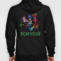 RonkyTonk Halloween Roller Derby Shirt Hoody