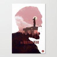 The Walking Dead - Season 1 Canvas Print