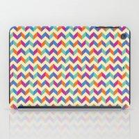 Coloured Chevron iPad Case