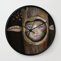 Tree Life Wall Clock