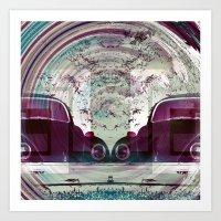 Iconic Swirl Art Print