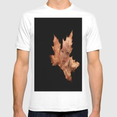 Through A Leaf SMALL Mens Fitted Tee White