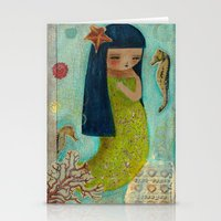 A Little Mermaid Stationery Cards