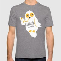 White Owl Mens Fitted Tee Tri-Grey SMALL