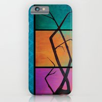 tree painting iPhone 6 Slim Case