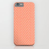 Coral Dots iPhone 6 Slim Case