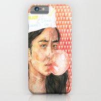 Bubblegum Girl iPhone 6 Slim Case