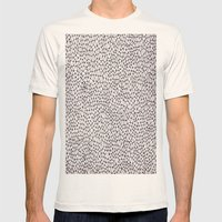 trippy Mens Fitted Tee Natural SMALL