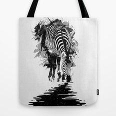 Stripe Charging Tote Bag