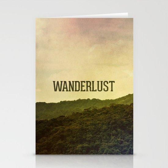 Wanderlust I Stationery Card