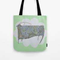 Blue Antelope Tote Bag