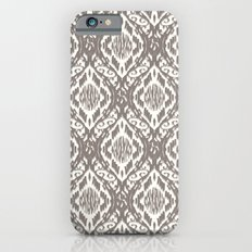 Damask Ikat : Taupe Slim Case iPhone 6s