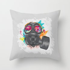 Not Over Yet Throw Pillow