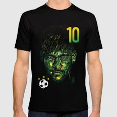 NEYMAR JR SMALL Black Mens Fitted Tee