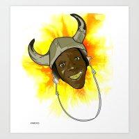FLAYVAH Art Print