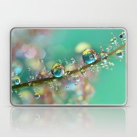 Smokey Rainbow Drops Laptop & iPad Skin